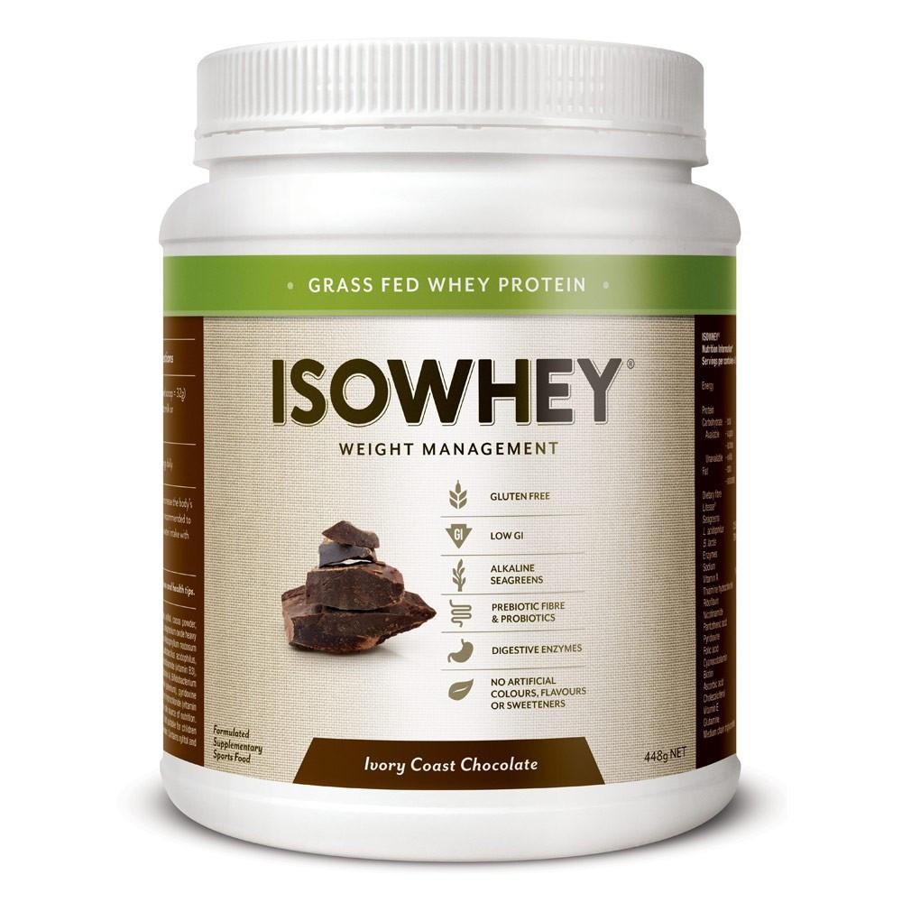 ISOWHEY COMPLETE WEIGHT LOSS – IVORY COAST CHOCOLATE 448G